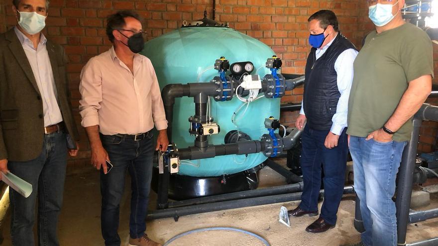 La Diputación mejora el agua potable en Villadepera y Villardiegua