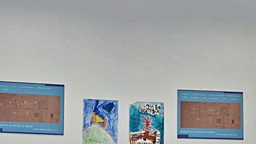 La mina de Arnao expondrá los dibujos de un concurso infantil
