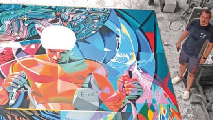 """El mural """"maldito"""" de Renau resucita en València"""