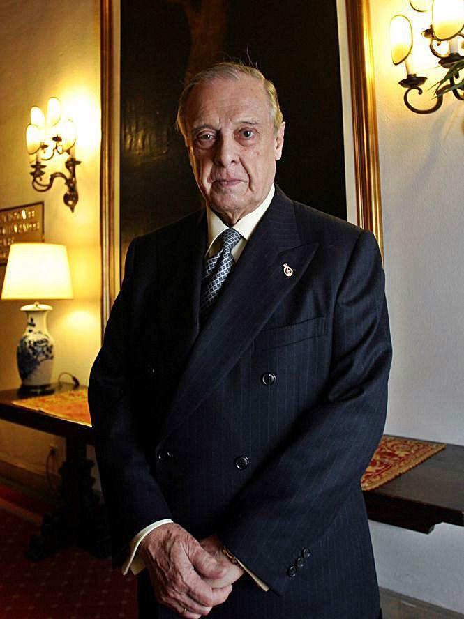 Sabino Fernández Campo  | Nacido en 1918. Jefe de la Casa del Rey de 1990 a 1993.