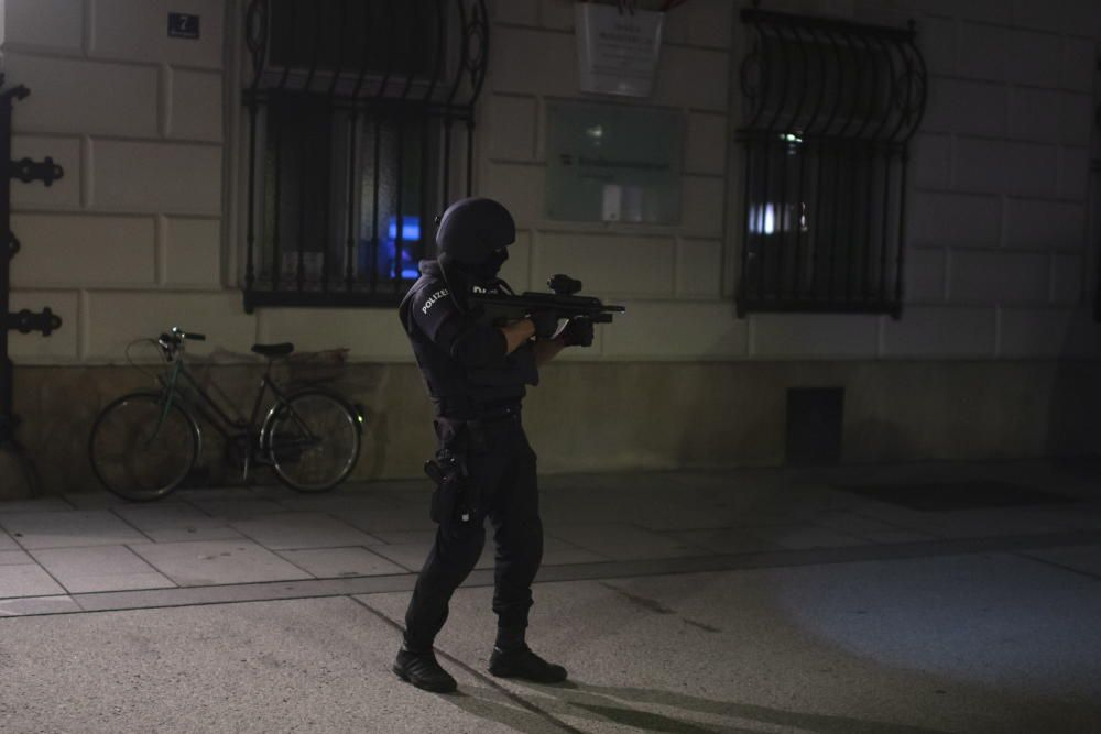 At least two people dead in Vienna terror attack