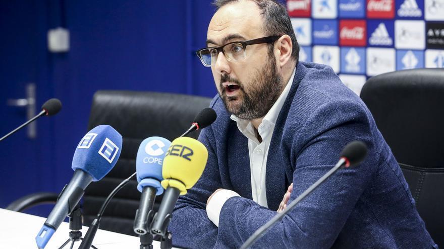 """El gerente del Real Oviedo: """"Estamos muy contentos por mantener el 97% de la masa social"""""""