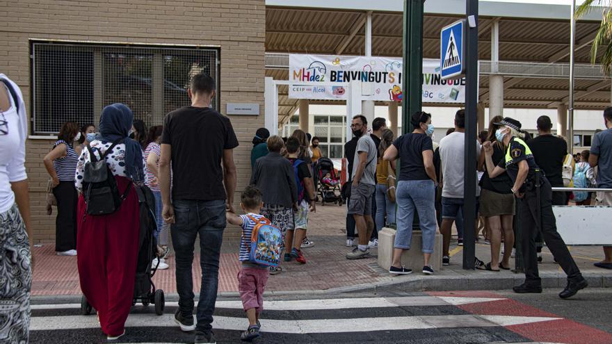 Más de 11.000 alumnos empiezan el curso en Alcoy