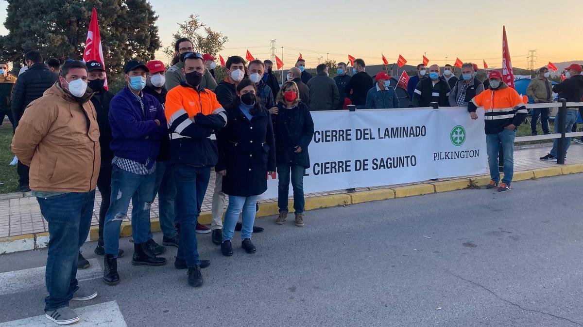 Una protesta de los trabajadores
