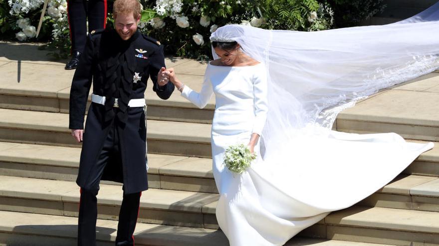 La pareja ostentará el título de duques de Sussex
