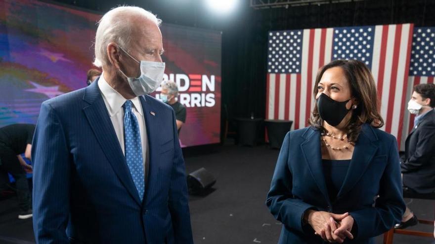 Arrestan a un hombre por amenazas de muerte a Joe Biden y Kamala Harris