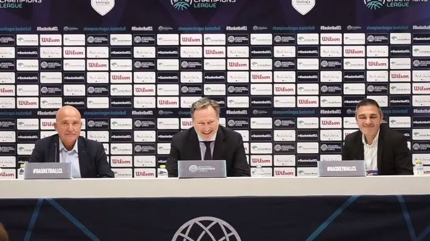 """Patrick Comninos, CEO de la BCL: """"Sabemos lo que representa el Unicaja en el baloncesto español y europeo"""""""