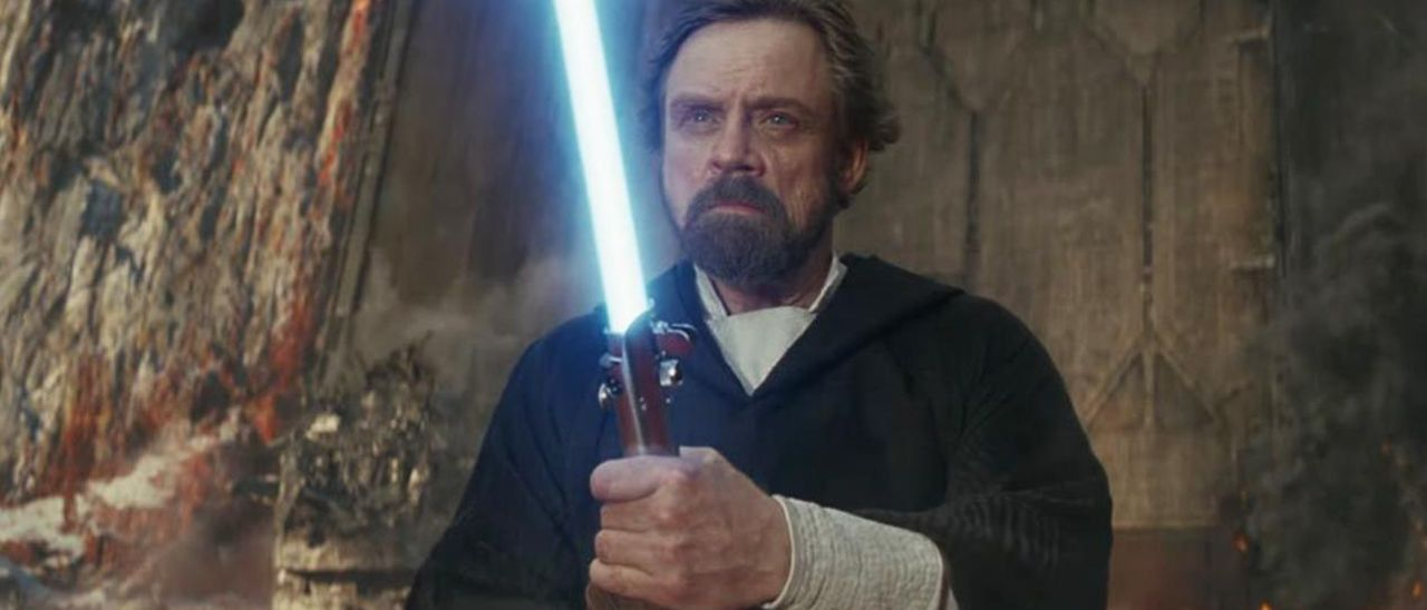Mark Hamill, el jedi Luke Skywalker.