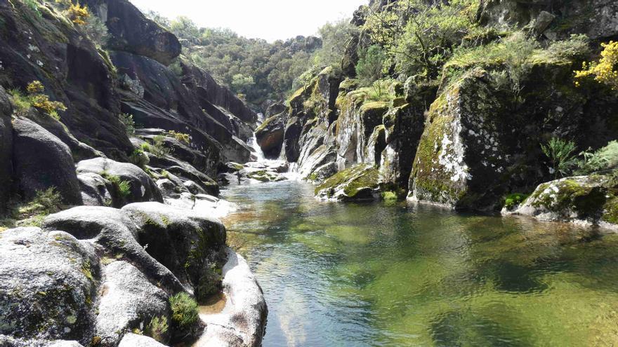 """El """"salto del ángel"""" de las tierras altas de Pontevedra"""