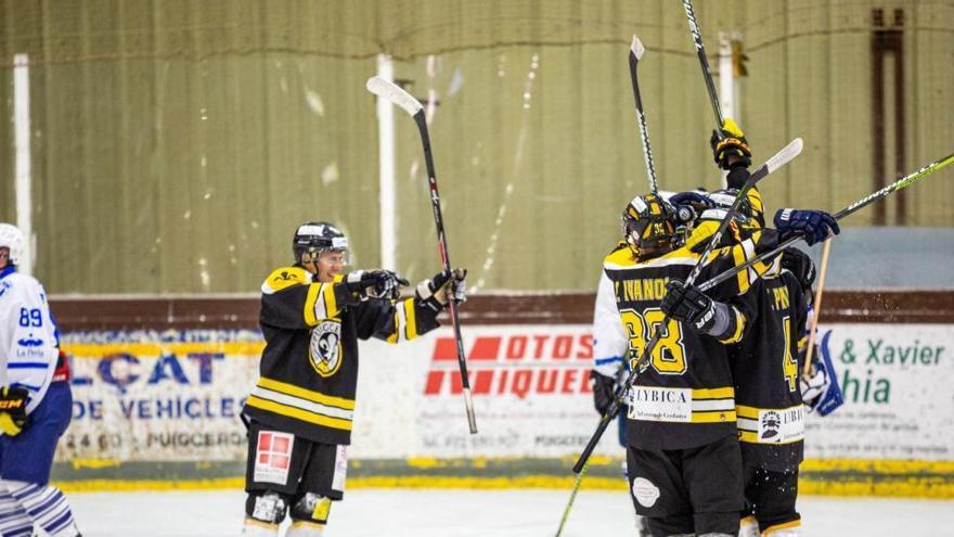 El CG Puigcerdà jugarà la final de la lliga masculina d'hoquei gel per tercera temporada consecutiva