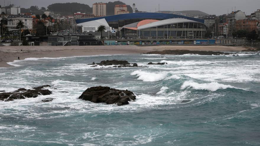 El tiempo en Galicia | Todo el litoral gallego vuelve a estar hoy en alerta naranja por temporal