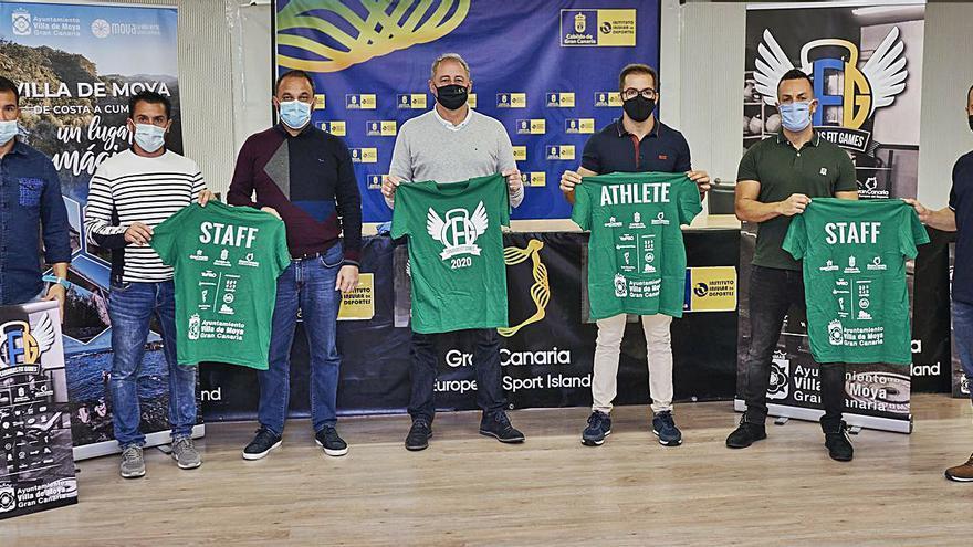 Moya acoge el campeonato Canarias Fit Games con 250 atletas