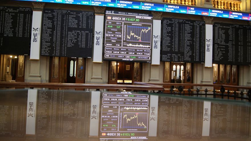 El Ibex 35 cae un 0,8% en la semana y se afinca de nuevo en los 8.500 puntos