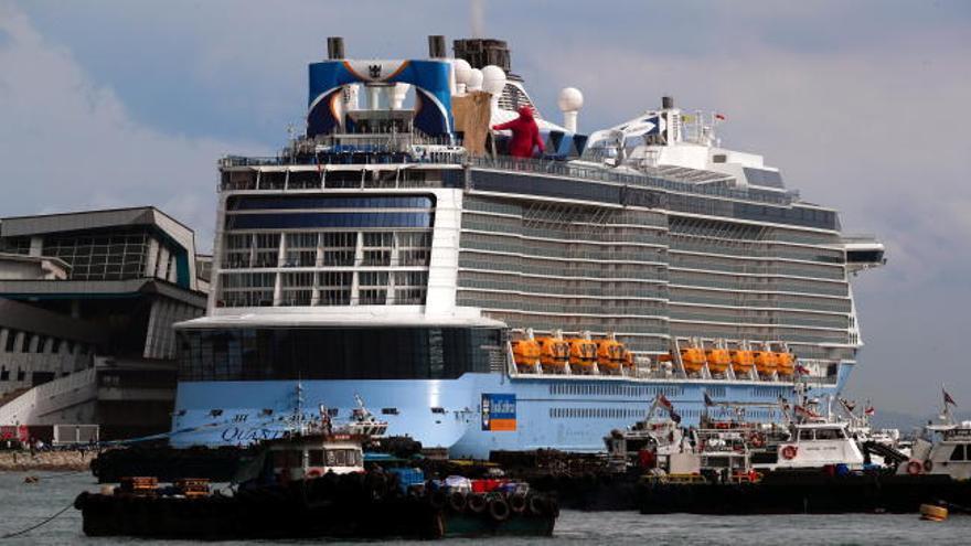 Un positivo obliga a suspender un crucero en Singapur