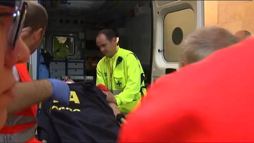 VÍDEO / El primer encierro de San Fermin deja cuatro mozos heridos