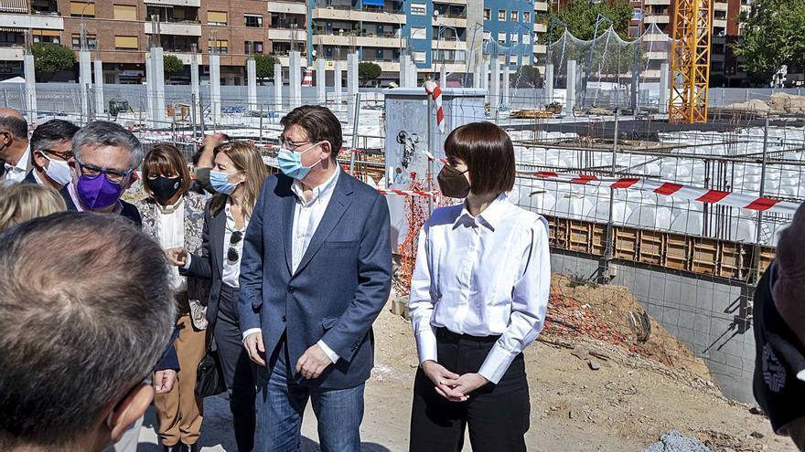 Puig presenta en Gandia el nuevo centro de salud como ejemplo de la sanidad pública