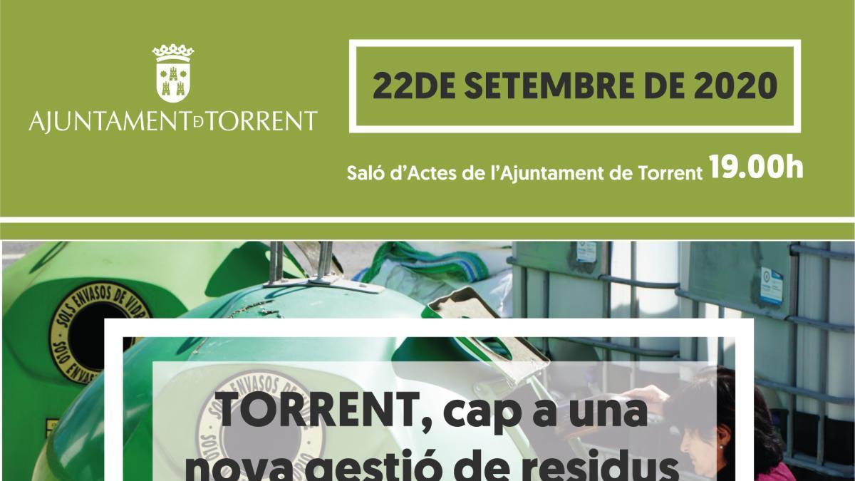 Torrent pone en marcha su Plan Local de Gestión de Residuos Domésticos y Asimilables