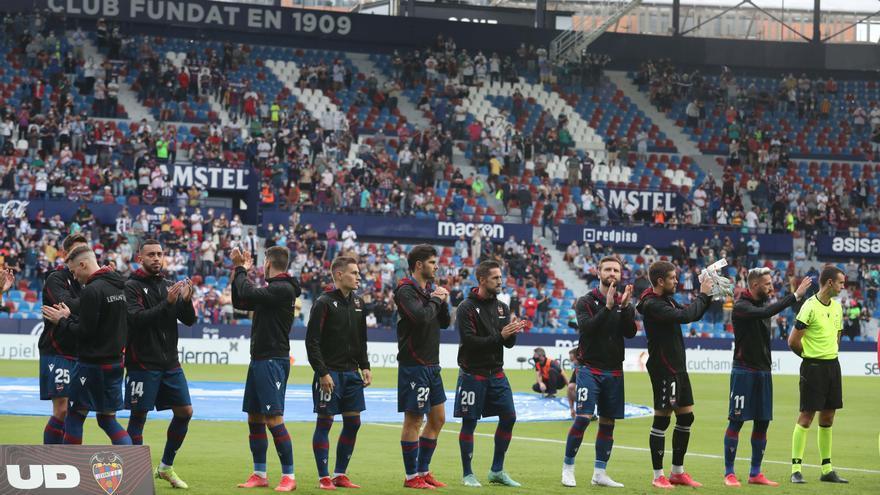 Este es el once del Levante UD para medirse al Sevilla