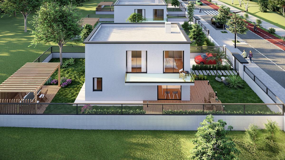 Modelos de chalés y pisos que diseña Arco da Vella, con luz y espacios al aire libre (1).jpeg