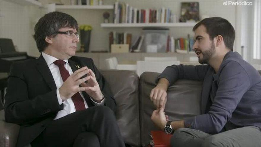 """Carles Puigdemont: """"El discurso del Rey es un aval a Vox y a la ultraderecha"""""""