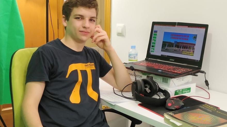 Jesús Parejo Pineda, ganador de los premios 'Investigar en Ciencias'