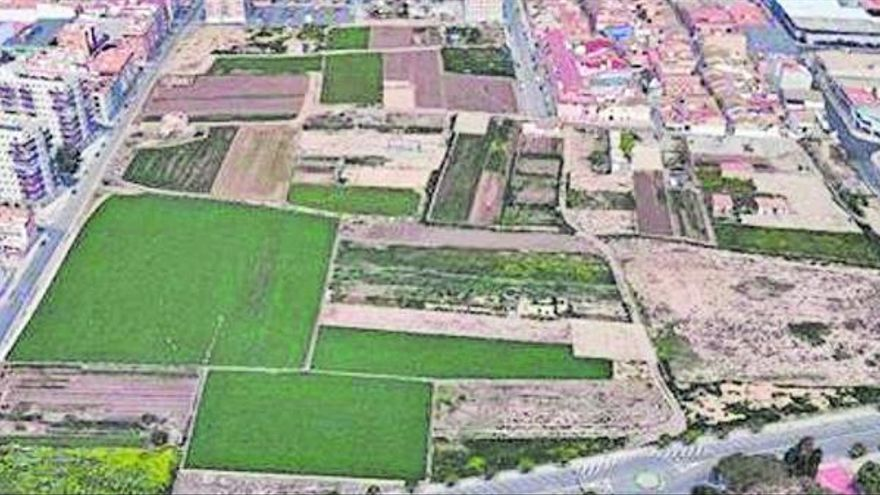 Alfafar rechaza las alegaciones y da luz verde a construir 1.000 pisos en la huerta
