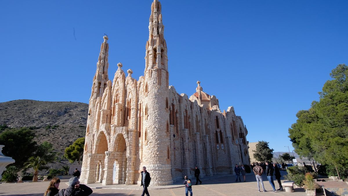 Castillo de la Mola en Novelda