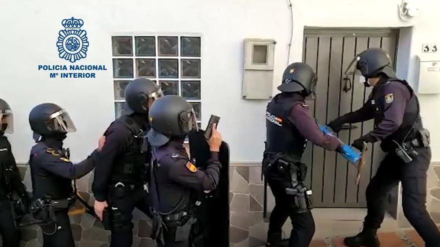 Cae una organización asentada en Marbella y Ojén dedicada al tráfico de hachís y marihuana