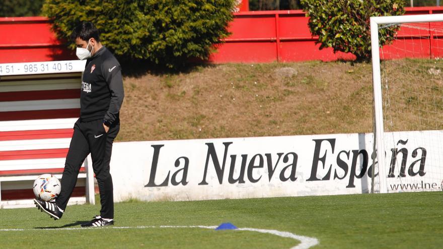Gragera y Saúl García, fuera de la convocatoria del Sporting ante el Rayo