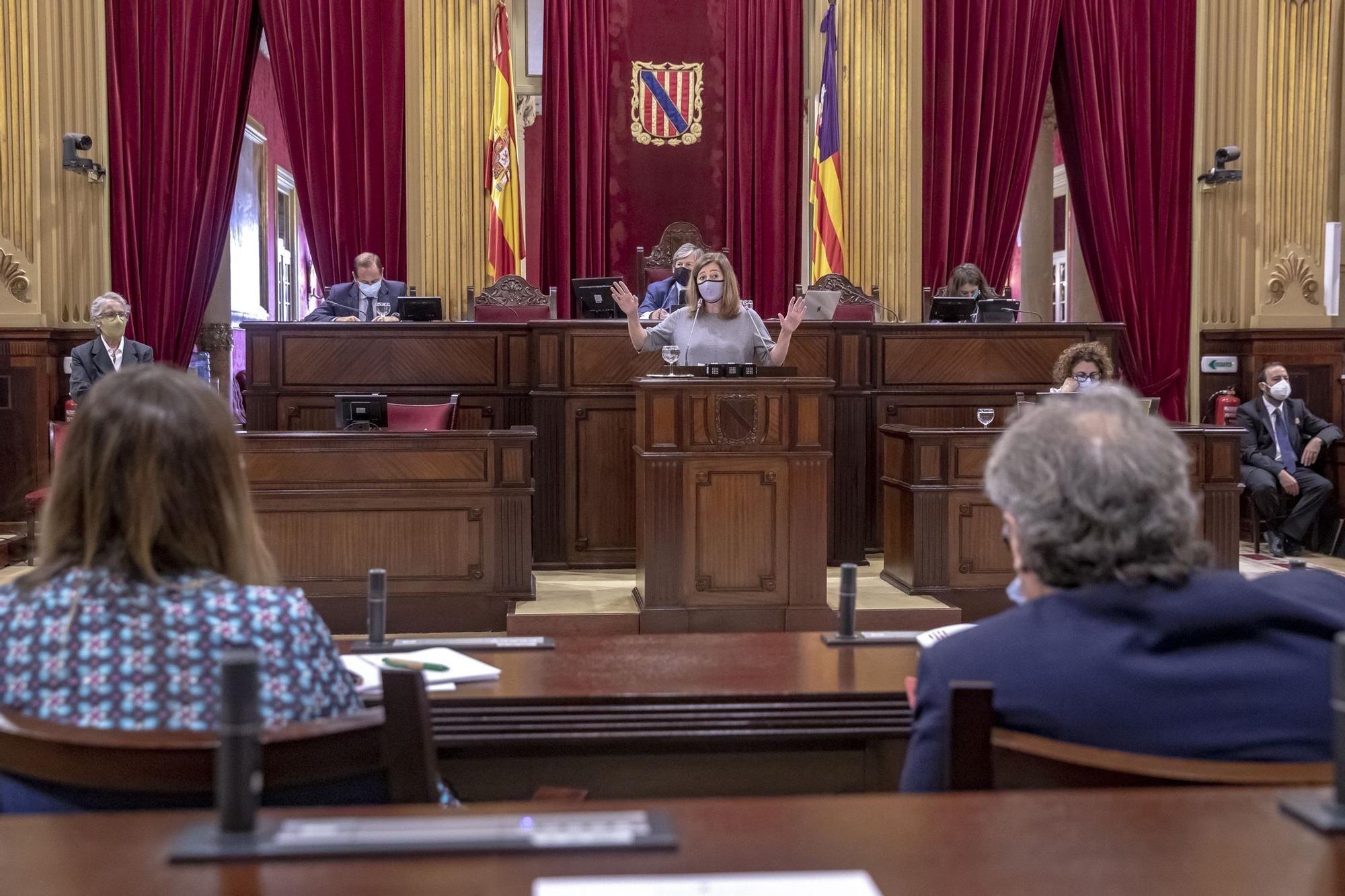Pleno del Parlament de día 15 de septiembre