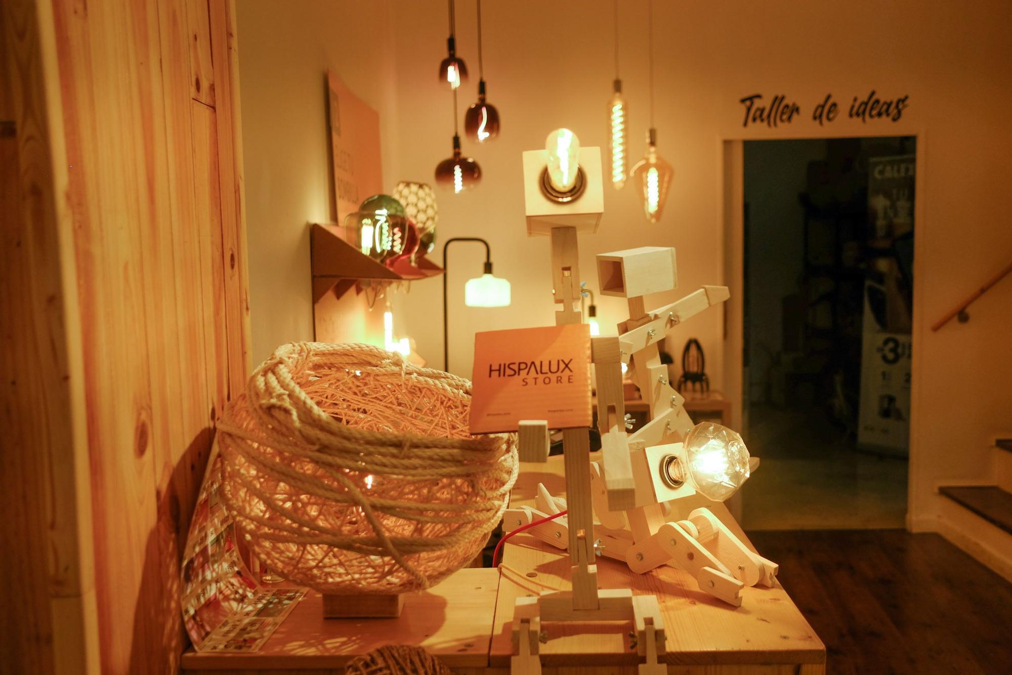 Tienda de lámparas Hispalux