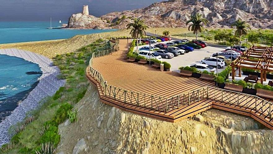 Bronca política en La Vila por el proyecto de parking y mirador en la playa del Xarco