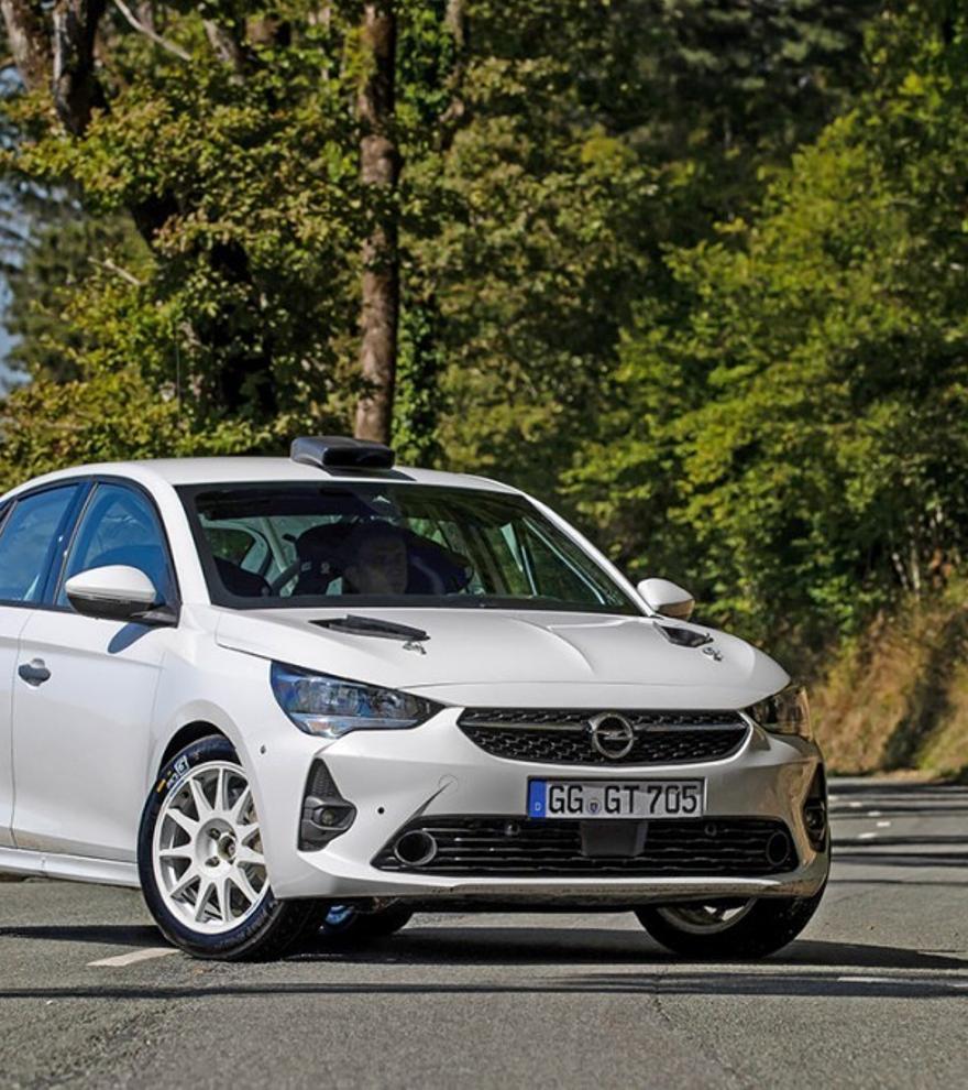 Opel desvela el Corsa Rally4 para la temporada 2021