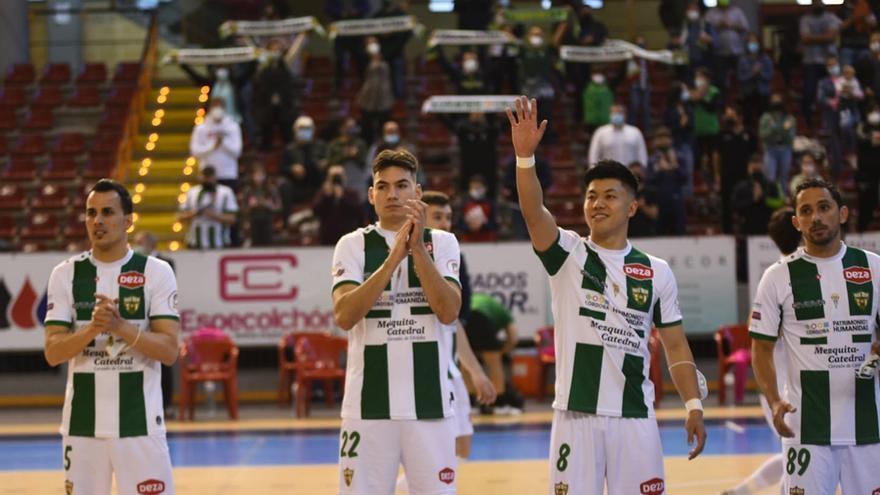 El Córdoba Futsal y su escalera final para la salvación