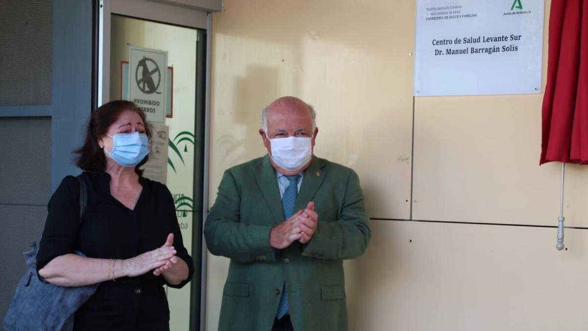 El centro de salud Levante-Sur se denomina desde hoy Dr. Manuel Barragán Solís
