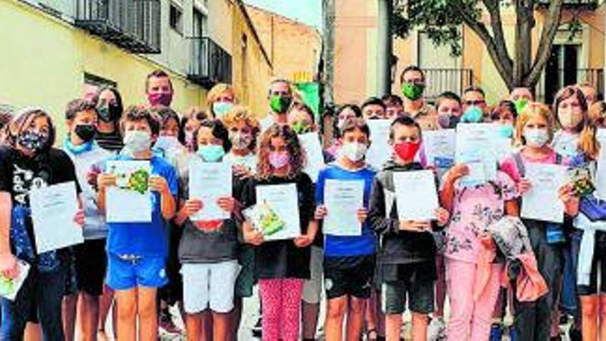 L'escola Mare de Déu de la Muntanya rep el reconeixement per Esparreguera Florida