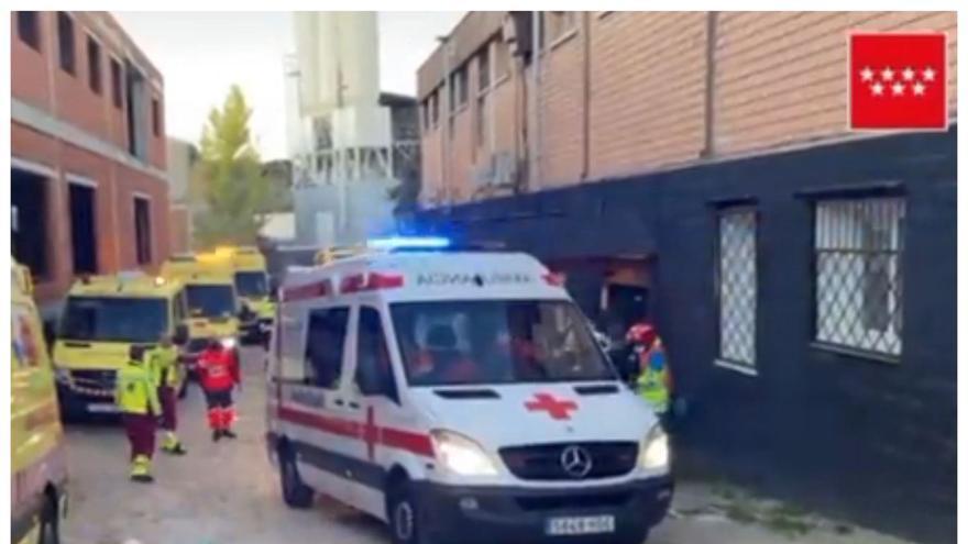 Una anciana fallece en un incendio en una residencia de Madrid