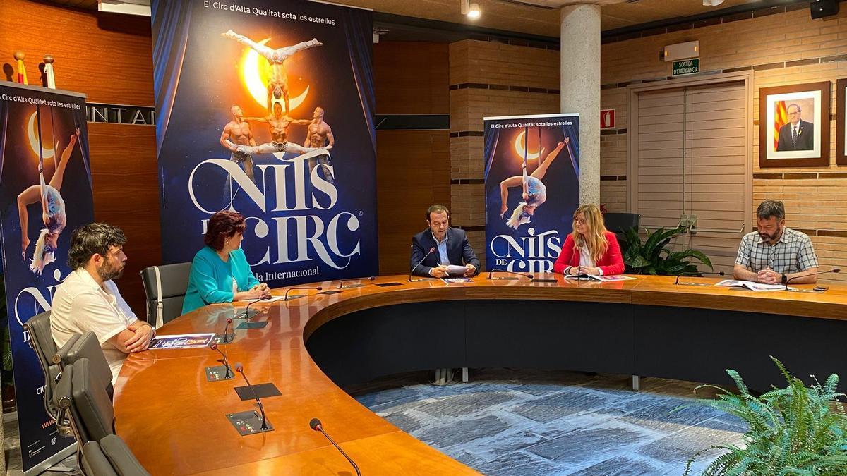 Presentació de l'espectacle Nits de circ a Besalú i Roses