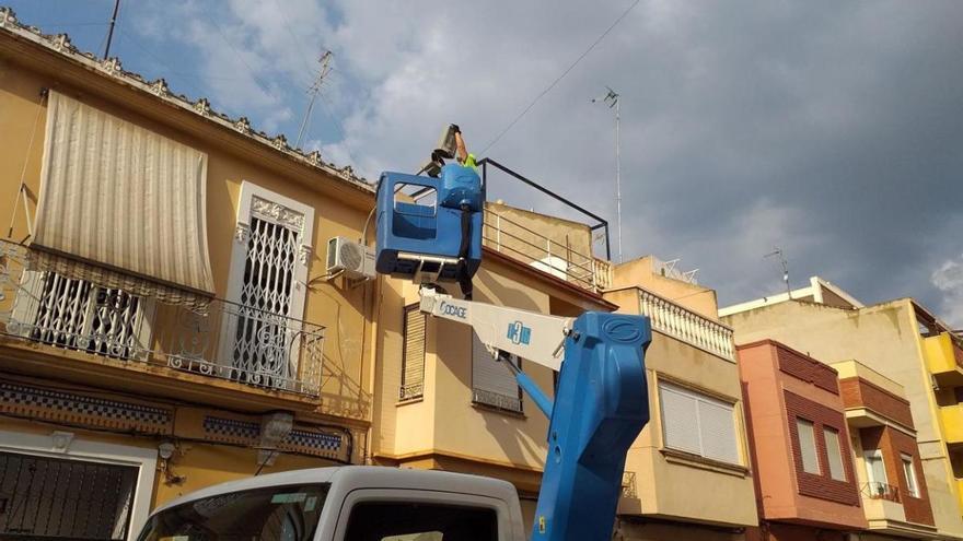 Burjassot mejorará la iluminación de sus calles con 167 nuevas luminarias