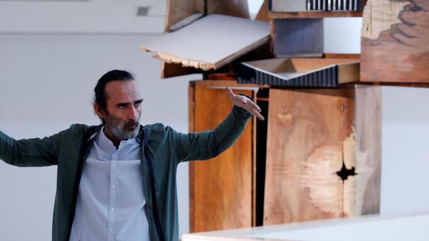 Jorge Peris  crea su guarida en el IVAM