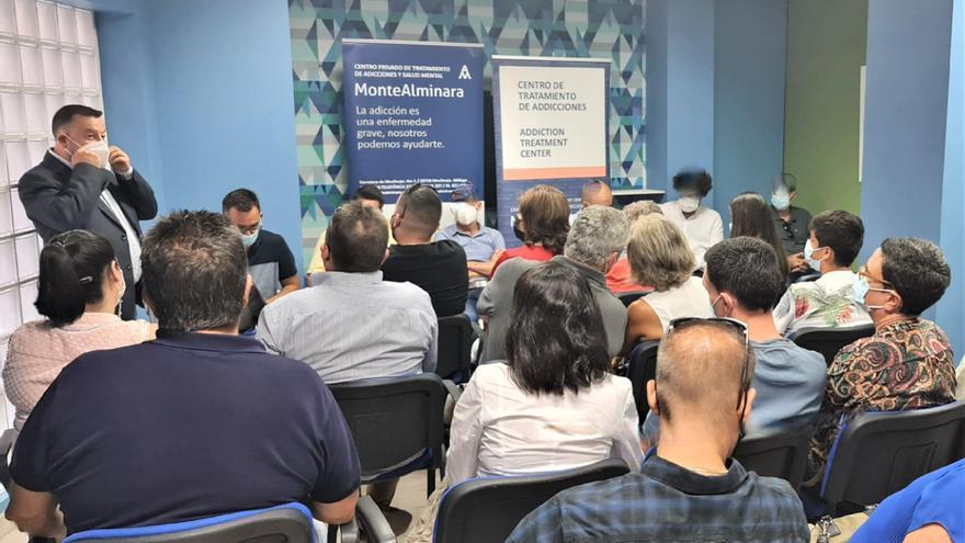 MonteAlminara celebra el alta de seis pacientes rehabilitados de adicciones