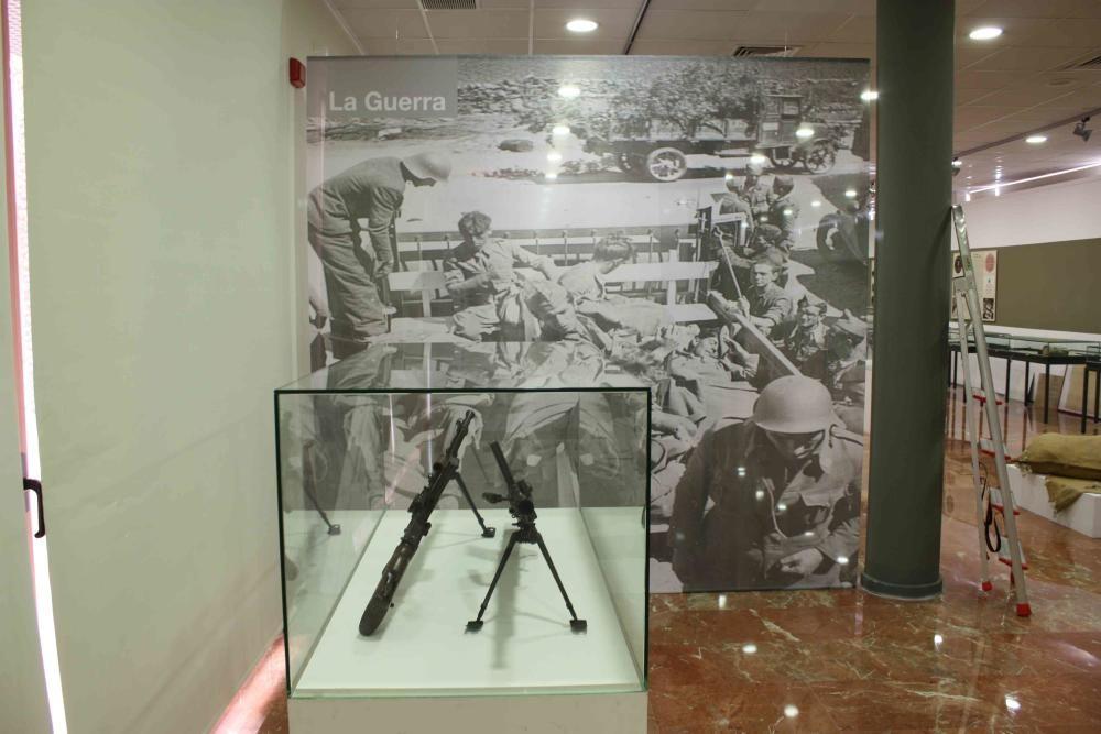 Exposición de la Guerra Civil y la memoria en Alicante