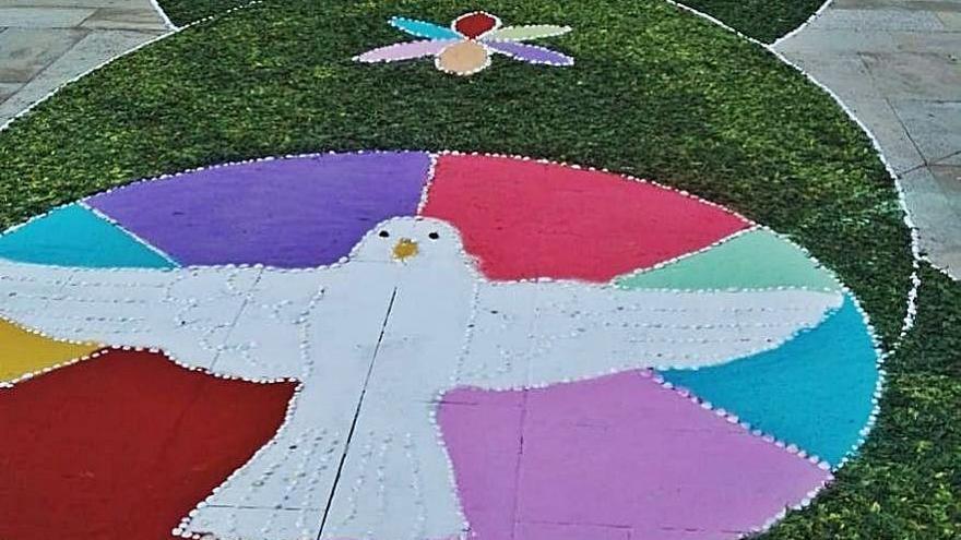 Marín participará en un proyecto de alfombrismo con motivo del Año Xacobeo