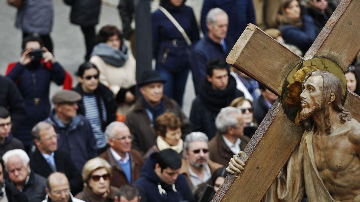 Redención, en la mañana del Viernes Santo. | Emilio Fraile
