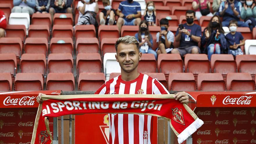 """Fran Villalba: """"Ojalá podamos llevar al Sporting a donde se merece estar"""""""