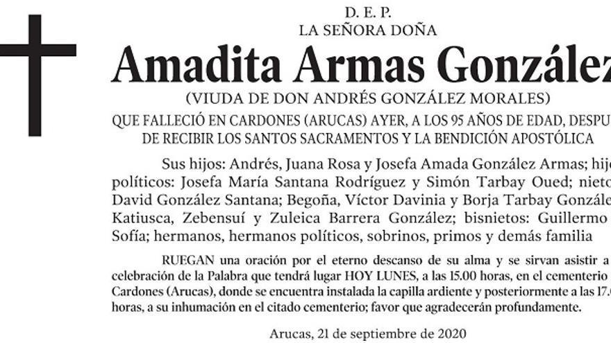 Amadita Armas González