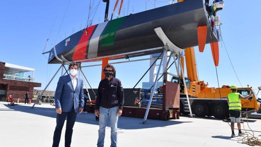 Marina Coruña, puerto base del equipo mexicano de la regata Ocean Race