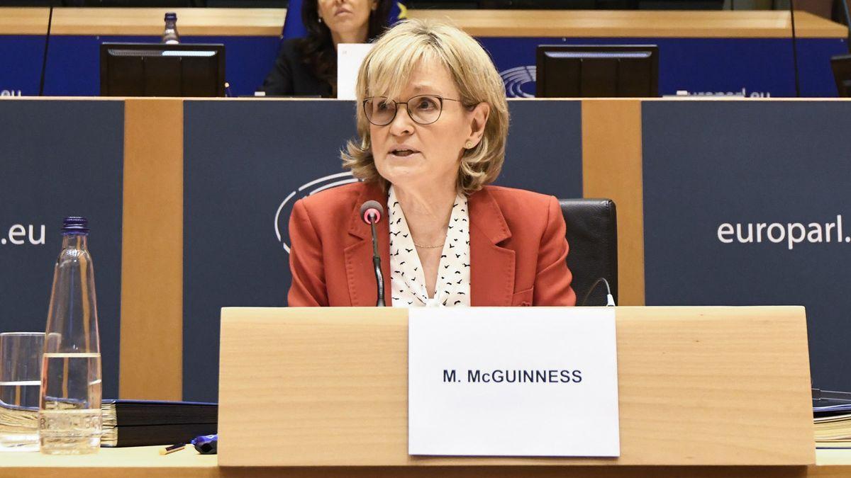 La ComisarIa de servicios financieros, Mairead McGuinness.