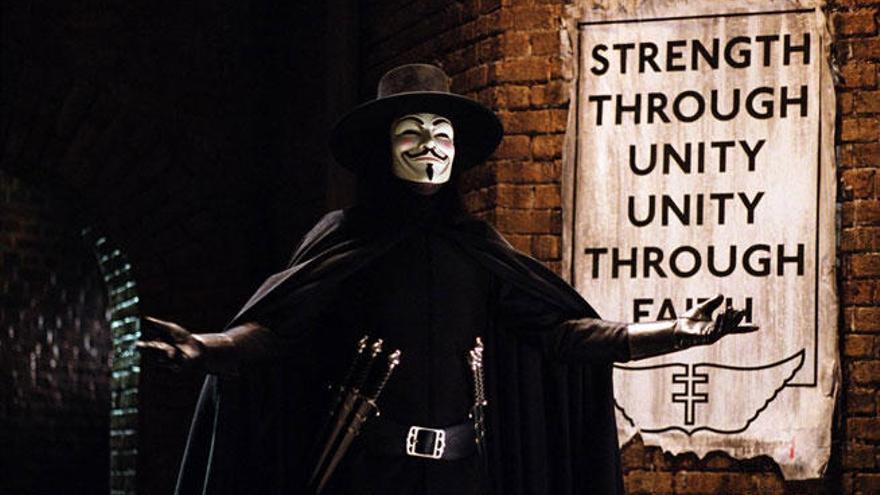 Cinco curiosidades de 'V de Vendetta'