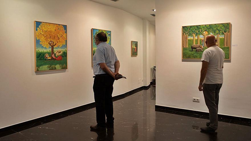 Unos bosques de ensueño en la galería Espacio 36 de Zamora
